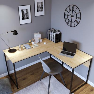 L Design Schreibtisch L195 l Eiche