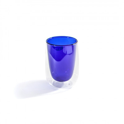 Teeglas Doppler | Blau