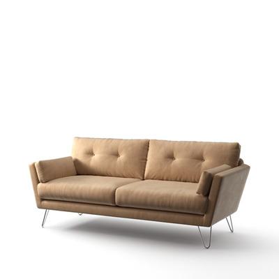 3-Sitzer-Sofa Tido   Sand