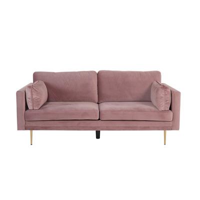 3 Seater Sofa Boom Velvet | Dusty Pink