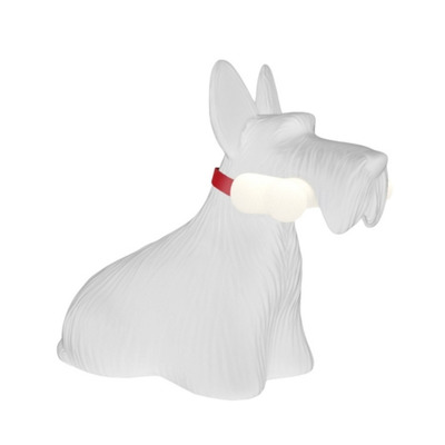 Lampe Qeeboo Scottie | Weiß