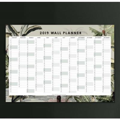 Wall Planner 2019 | Dreamy Jungle