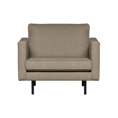 Armchair Rodeo Stretched | Brown Melange