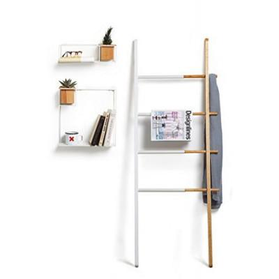 Ladder Hub | White & Natural