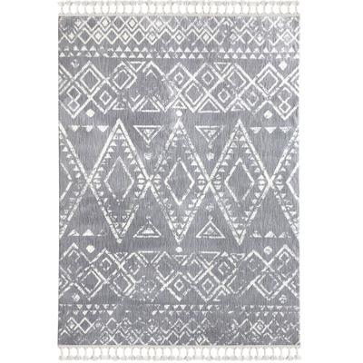 Carpet 1495A I -Light Grey-White 160x230 cm