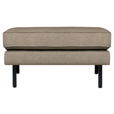 Pouf Rodeo Stretched | Brown Melange