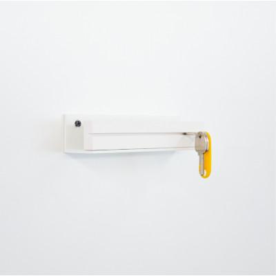 D | Keyholder White Low