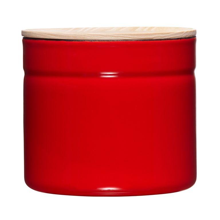 Kitchenmanagement Rode Pot 1390ml