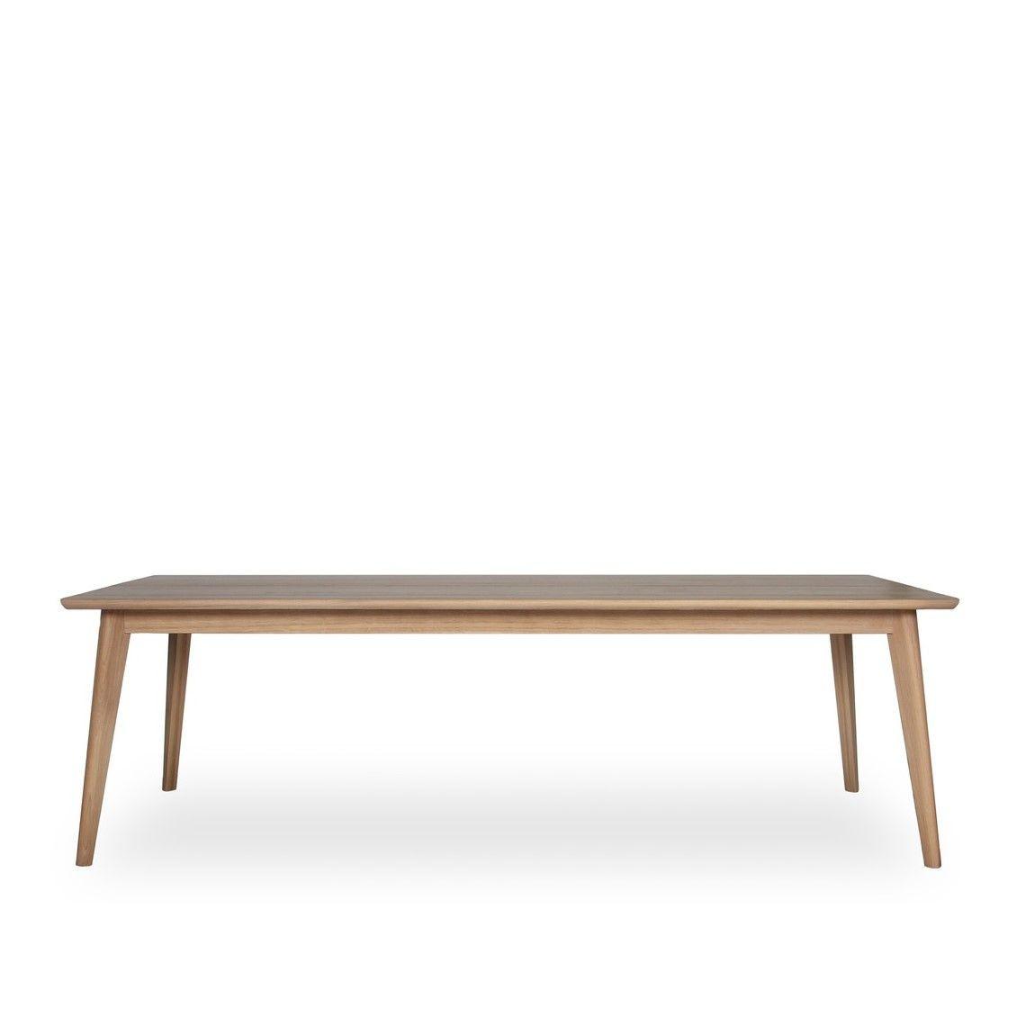 Tisch Dan   Natürlicher Lack