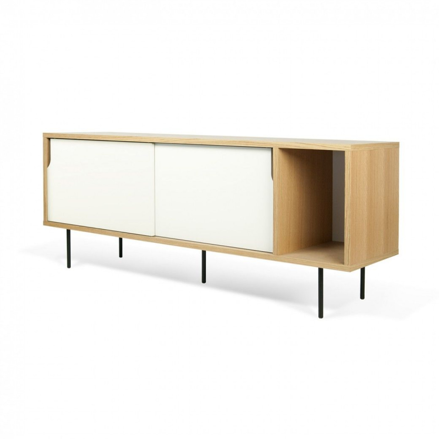 Sideboard Dann | Oak/White