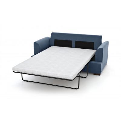 3-Sitzer-Schlafsofa Irina | Marineblau