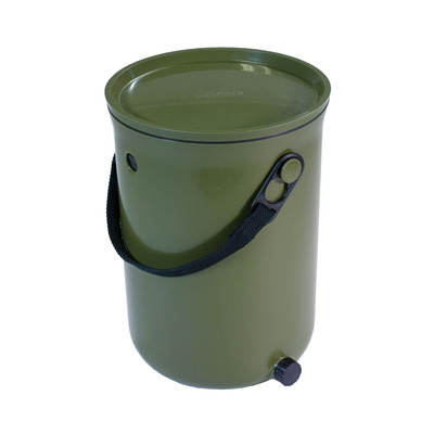 Küchenkompost Bokashi Organko 2 mit 1 Kg Bokashi Bran | Grün