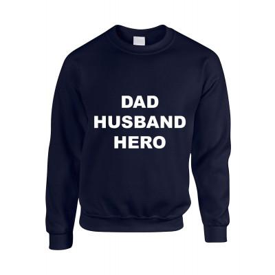 Pullover ♂ Vater, Ehemann, Held | Marine