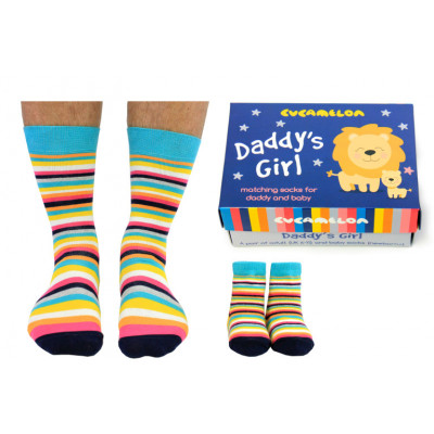 Socken Daddy's Girl 2-Paar