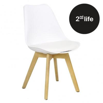 2tes Leben   Stuhl Zurich   Weiß
