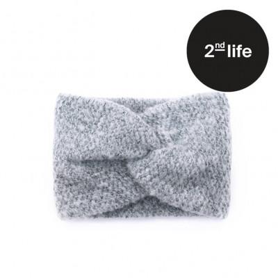 2tes Leben   Haarband   Grau