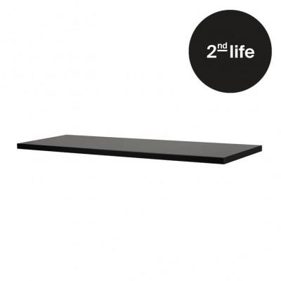 2tes Leben | Regal L 80 x 27 | Schwarz