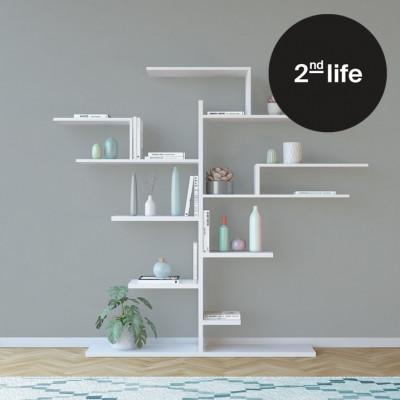 2tes Leben | Bücherregal Baum | Weiß