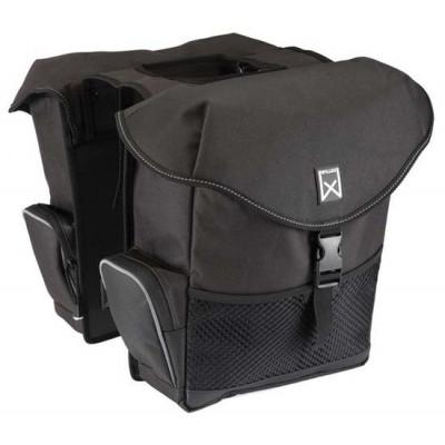 Double Bag for Bike XL   Black