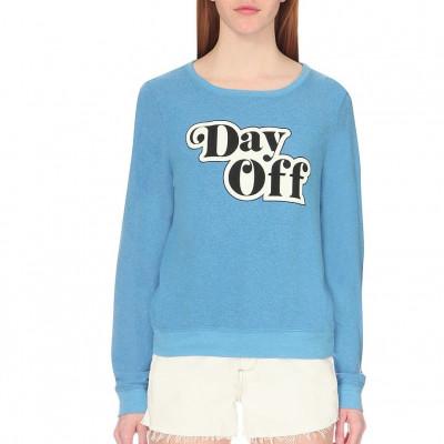 Fleece Sweatshirt Day Off
