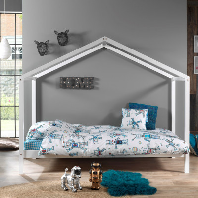 Hausbett Dallas ZH   200 x 90 cm   Weiß