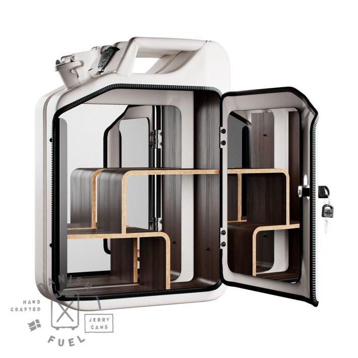 Bathroom Cabinet | Moscow White + Oak