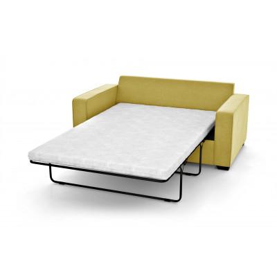 2 Seater Sofa Bed Serena | Yellow