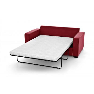 2-Sitzer-Schlafsofa Serena | Rot