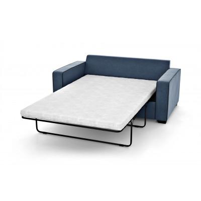 2-Sitzer-Schlafsofa Serena | Marineblau