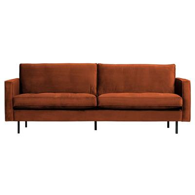 2,5 Seater Sofa Rodeo Classic Velvet | Rust