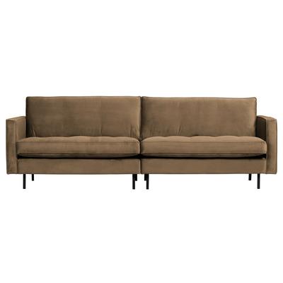 3 Seater Sofa Rodeo Classic Velvet | Taupe