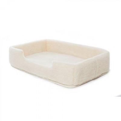 Woll-Pet-Bett Merino-Rechteck | Natürlich