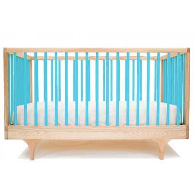 Wohnwagen-Babybett - Blau