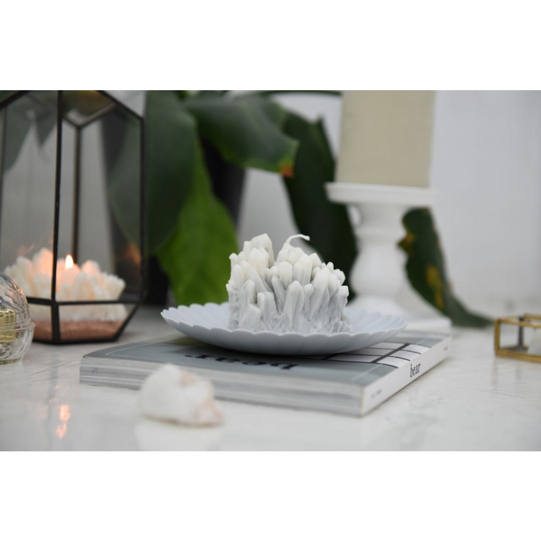 Sojawachs-Kerze Gemstone | Smoky Quartz