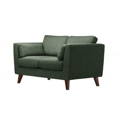 2-Sitzer Sofa Elisa | Dunkelgrün