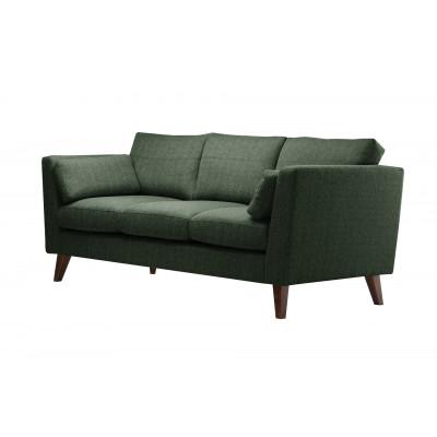 3-Sitzer Sofa Elisa | Dunkelgrün