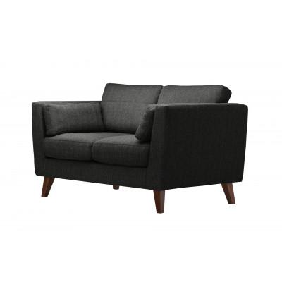 2-Sitzer Sofa Elisa | Schwarz