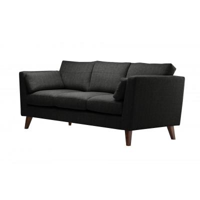 3-Sitzer Sofa Elisa | Schwarz