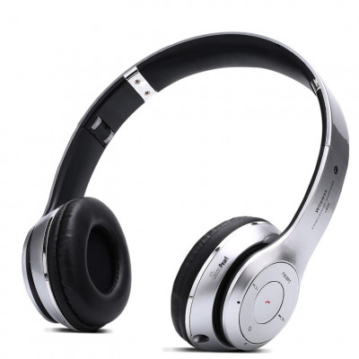 Bluetooth-Multifunktions-Headset | Silber