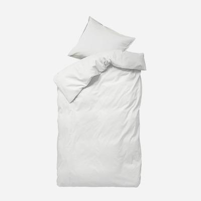 Einzelner Bettbezug mit Kopfkissenbezug 50 x 70 Ingrid   Schnee