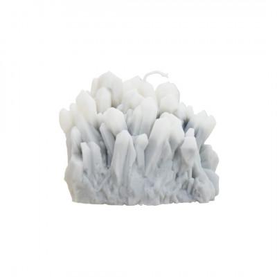 Sojawachs-Kerze Gemstone   Smoky Quartz
