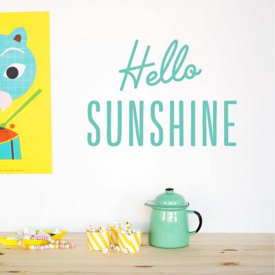 Wall Decal | Hello Sunshine