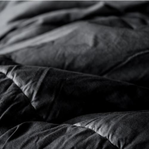 Bettbezug Anthracite