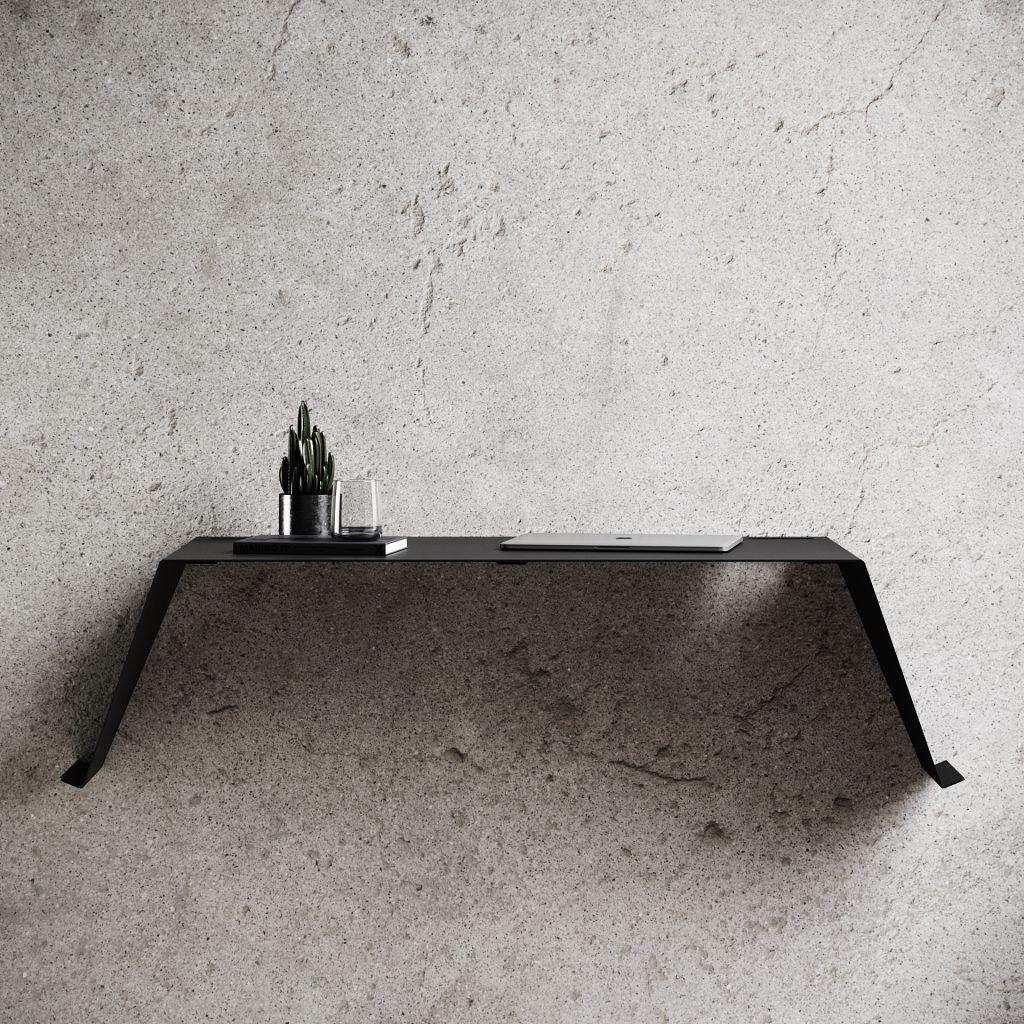 Bureau de Travail Mural Desk 01 | Noir
