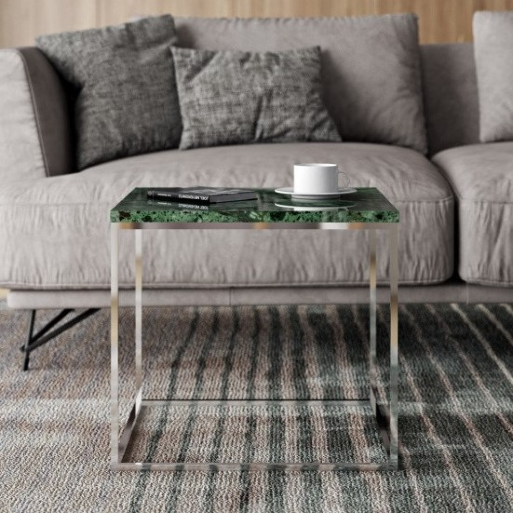 Side Table Gleam 50 | Marble