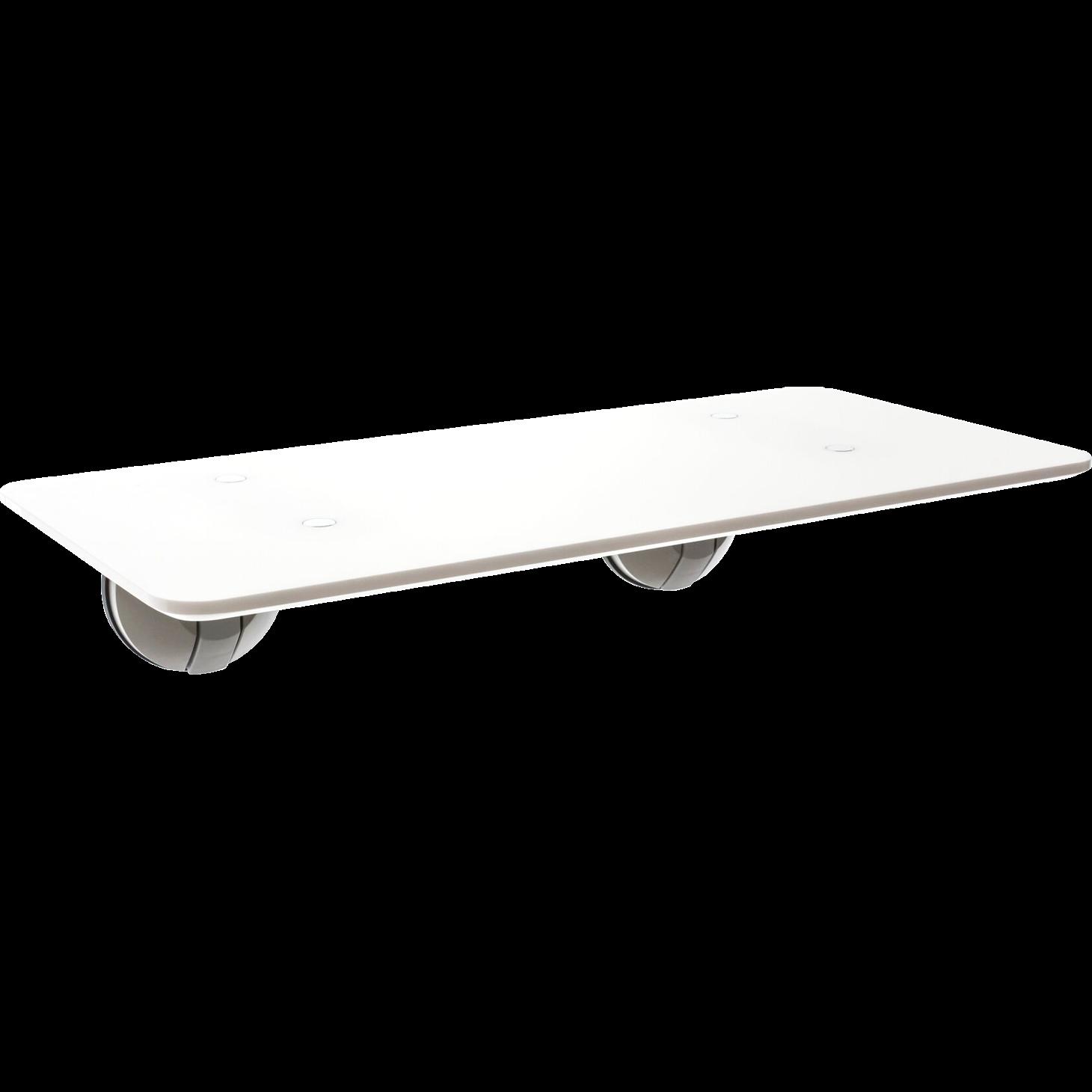 Stehender Schreibtisch Der Minimalist   Weiß
