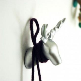 Dear Deer Coat Hook | Silver