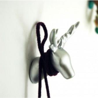 Dear Deer Coat Hook   White