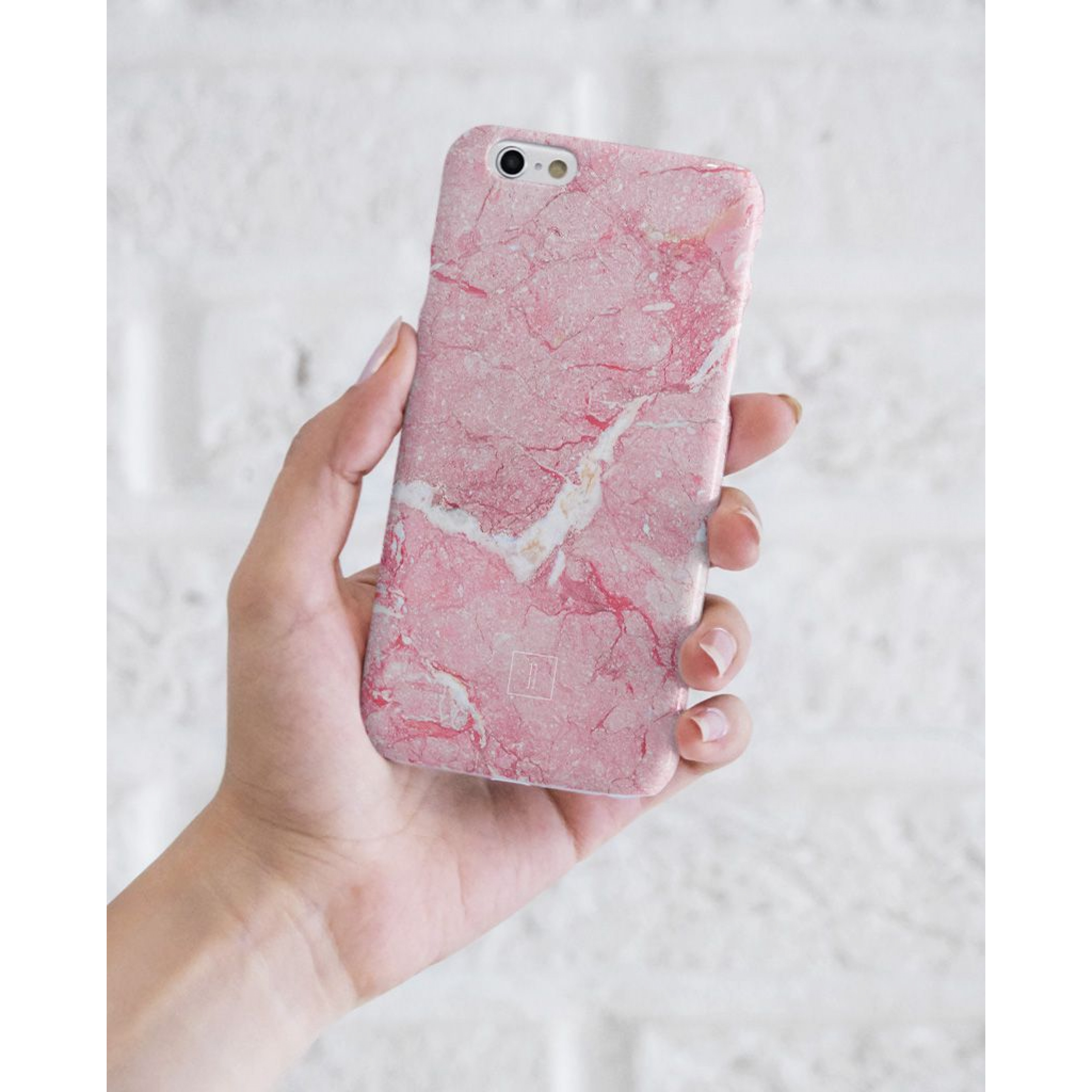 Pink Marble Smartphone Case