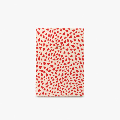 Notizbuch A5 | White Hearts
